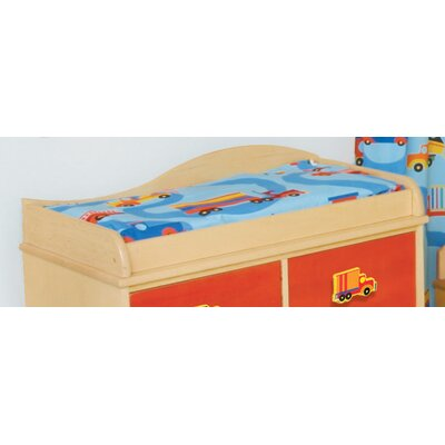 Room Magic Boys Like Trucks Changing Pad Cover