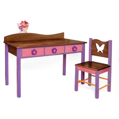Room Magic Magic Garden Kids' 2 Piece Table and Chair Set
