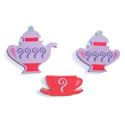 Room Magic Little Girl Tea Set 2-in-1 Convertible Crib Set