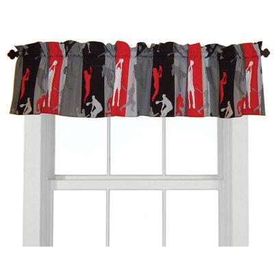 Room Magic Action Sports Cotton Curtain Valance