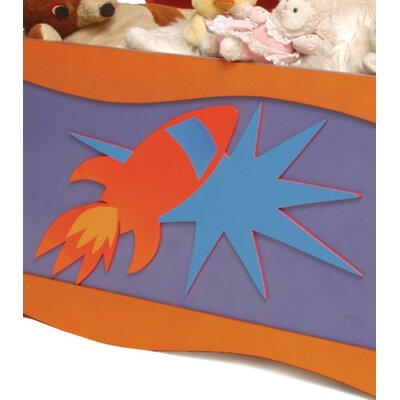 Room Magic Star Rocket Toy Box