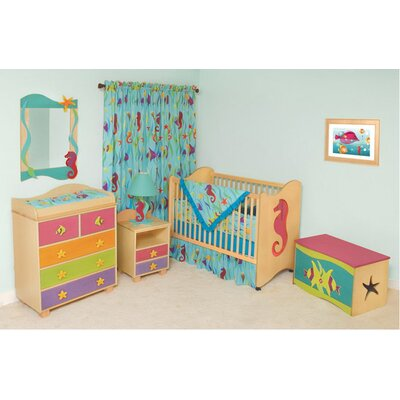 Room Magic Tropical Seas Nursery Bedroom/Bedding Set