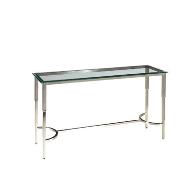 Sheila Rectangular Glass Top Console Table