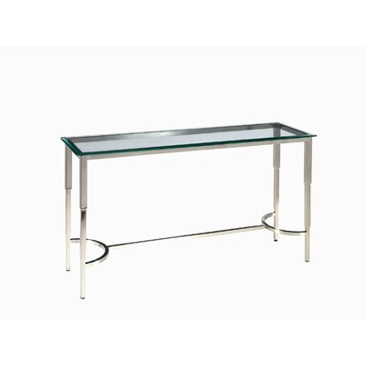 Allan Copley Designs Sheila Rectangular Glass Top Console Table