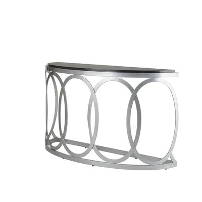 Allan Copley Designs Alchemy Half Moon Console Table