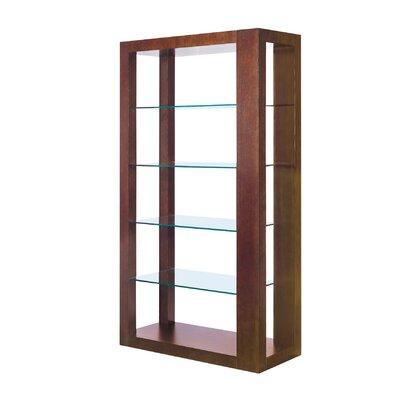 """Allan Copley Designs Dado Wall 72"""" Bookcase"""