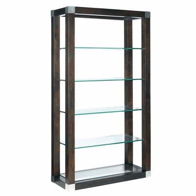 "Allan Copley Designs Calligraphy Wall 78"" Bookcase"