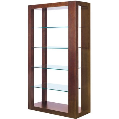 Allan Copley Designs Dado 5 Tier Glass Shelf Wall Unit