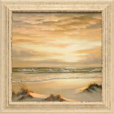 Artistic Reflections Golden Skies II Framed Painting Print