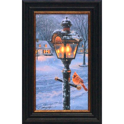 Warmth of Winter II Framed Art