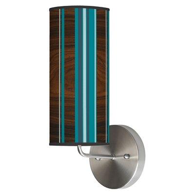 Jef Designs Organic Modern 1 Light Stripey Vertical Wall Sconce
