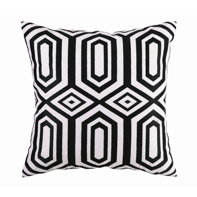 Hotel Soho Linen Embroidered Pillow
