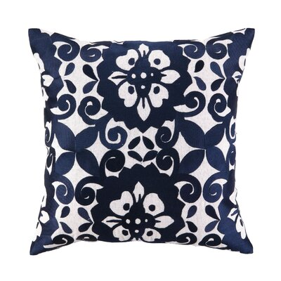 Sis Boom by Jennifer Paganelli Cassandra Linen Embroidered Pillow