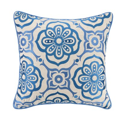 Citadel II Linen Embroidered Pillow