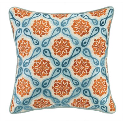 Kate Spain Bahir I Linen Embroidered Pillow