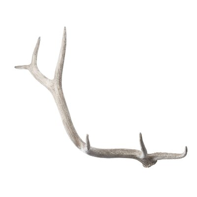 Lazy Susan USA Weathered Resin Elk Antler