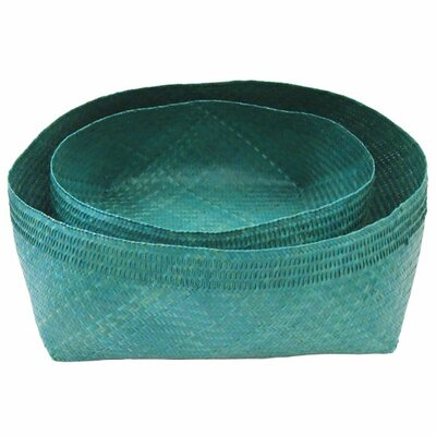 Lazy Susan USA Woven Bowl 2 Piece Set