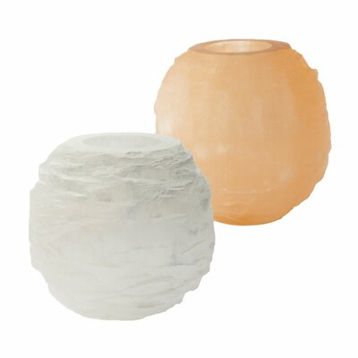 Lazy Susan USA Selenite Votive