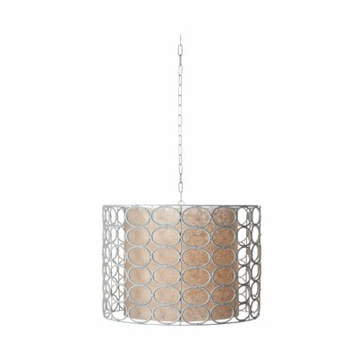 Lazy Susan USA Drum Oval Ring Lamp