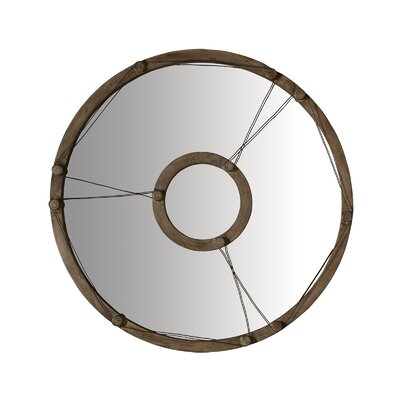 Lazy Susan USA Equation Wire Mirror