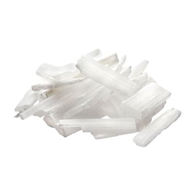 Lazy Susan USA Glacier Selenite Chips Ornament