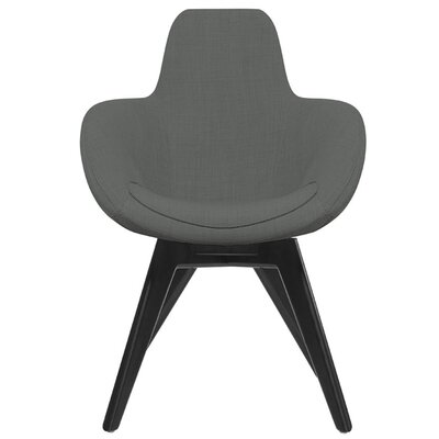 Scoop Side Chair with Wooden Legs