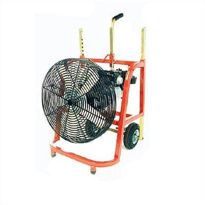 General Equipment 5.5 HP Gas Positive Pressure Ventilation Blower for Nonhazardous Locations
