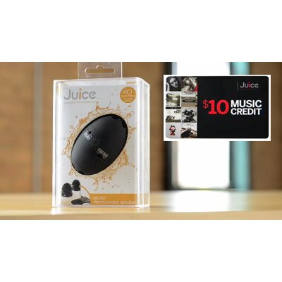 Juice Micro Stereo Pocket Speaker