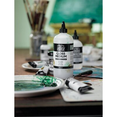 Winsor & Newton Artists Acrylic Mediums Assortment Bottle