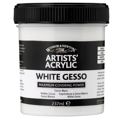 Winsor & Newton Artists' Acrylic White Gesso Medium Jar