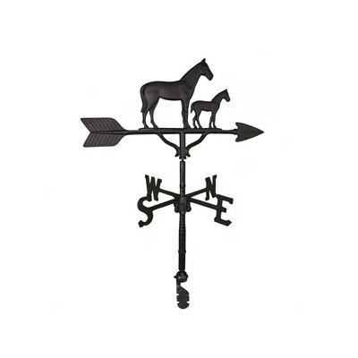 Montague Metal Products Inc. Mare and Colt Weathervane
