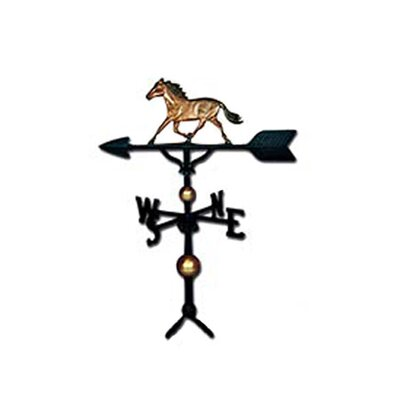 <strong>Montague Metal Products Inc.</strong> Deluxe Horse Weathervane