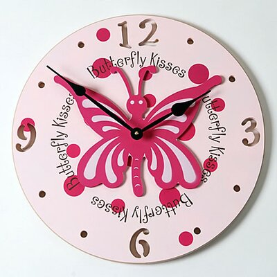 Forest Creations Butterfly Kid Clock