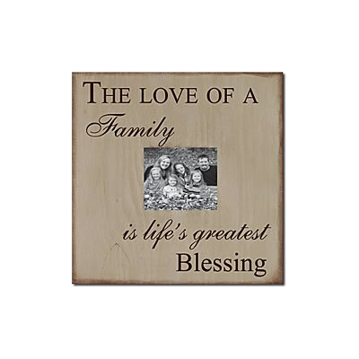 Forest Creations The Love of a Family Is Life's Greatest Blessing Memory Box