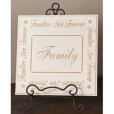 Forest Creations Touch of Elegance Family Sign