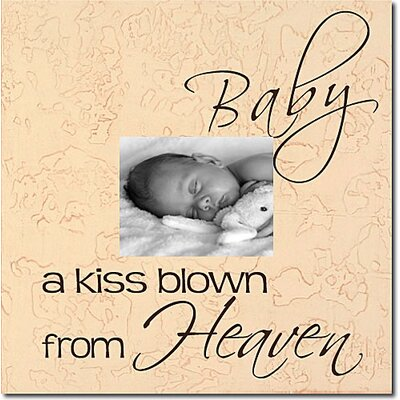 Forest Creations Baby aKiss Blown From Heaven Memory Box
