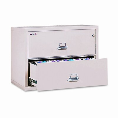 FireKing Insulated 2-Drawer Lateral File