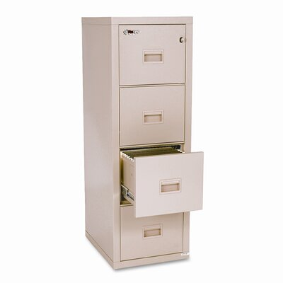 FireKing Compact Turtle 4-Drawer File