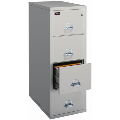 Fire King 2-Hour Rated Four-Drawer Vertical Legal File