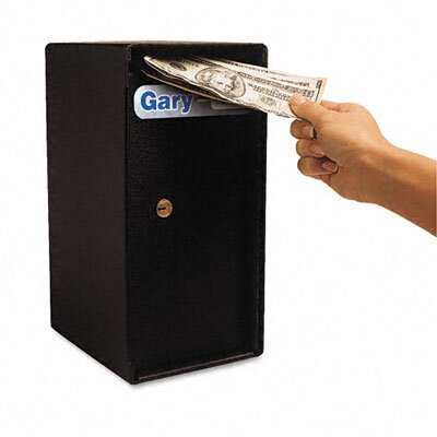 FireKing Theft-Resistant Compact Cash Trim Safe
