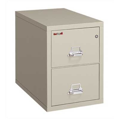 Fire King Two-Drawer Vertical Legal File