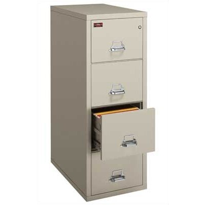 Fire King 2-Hour Rated Four-Drawer Vertical Letter File