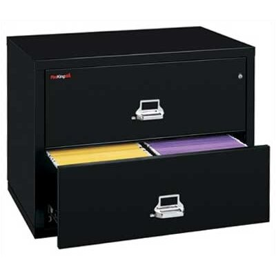 "Fire King 31"" W Two-Drawer Lateral File"