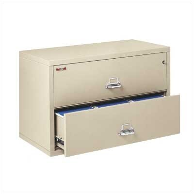 "Fire King 44"" W Two-Drawer Lateral File"