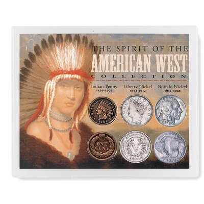 American Coin Treasures Spirit of the American West Coin Display Case