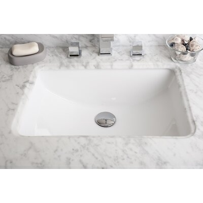 Rectangular Undermount Bathroom Sink - C1029