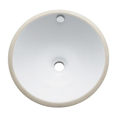 Round Undermount Bathroom Sink - C1028