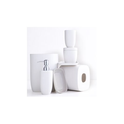 Waterworks Studio Modern Ceramic Bath Accessory Set