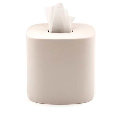 Waterworks Studio Modern Ceramic Tissue Box Cover