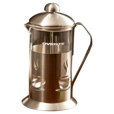 French Press Coffee Maker Cholesterol : Ovente Stainless Steel French Press Coffee Maker & Reviews Wayfair